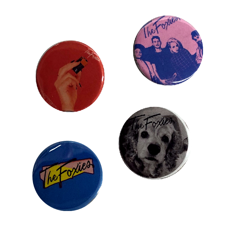 The Foxies Collectible Button Set